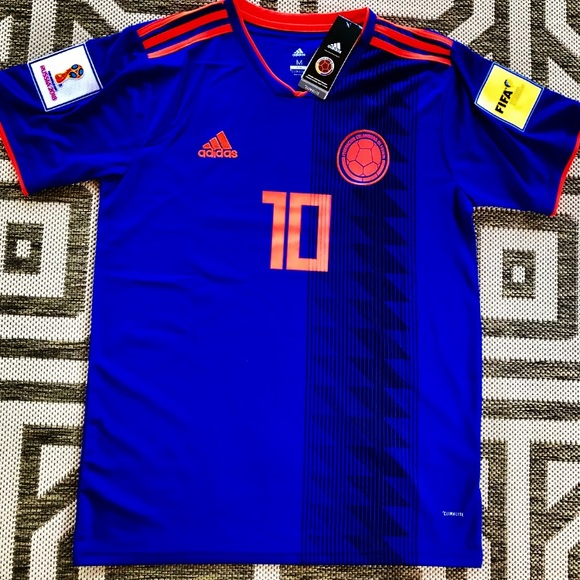 purchase cheap 0f130 fb5a2 2018 Colombia 🇨🇴 Men's Away jersey #10 James NWT